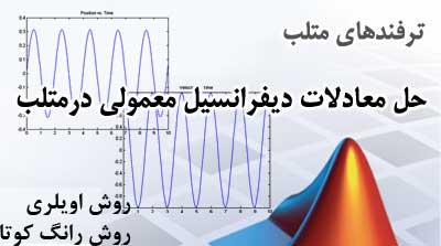 حل معادلات دیفرانسیل در متلب