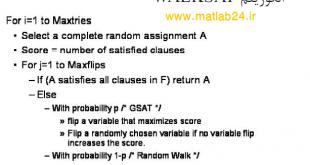 الگوریتم WalkSAT