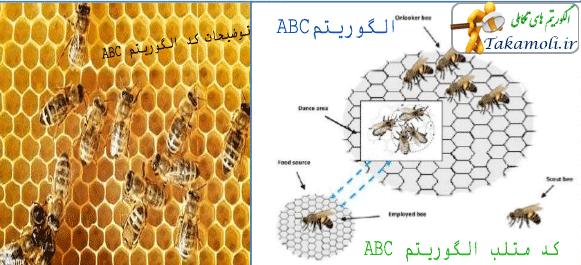 کد متلب الگوریتم کلونی زنبور عسل یا ABC